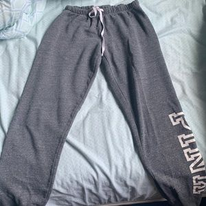 PINK grey sweats Size XS can fit a Small!